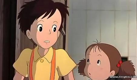 龙猫里没有男主角,那个男孩是女孩的邻居.