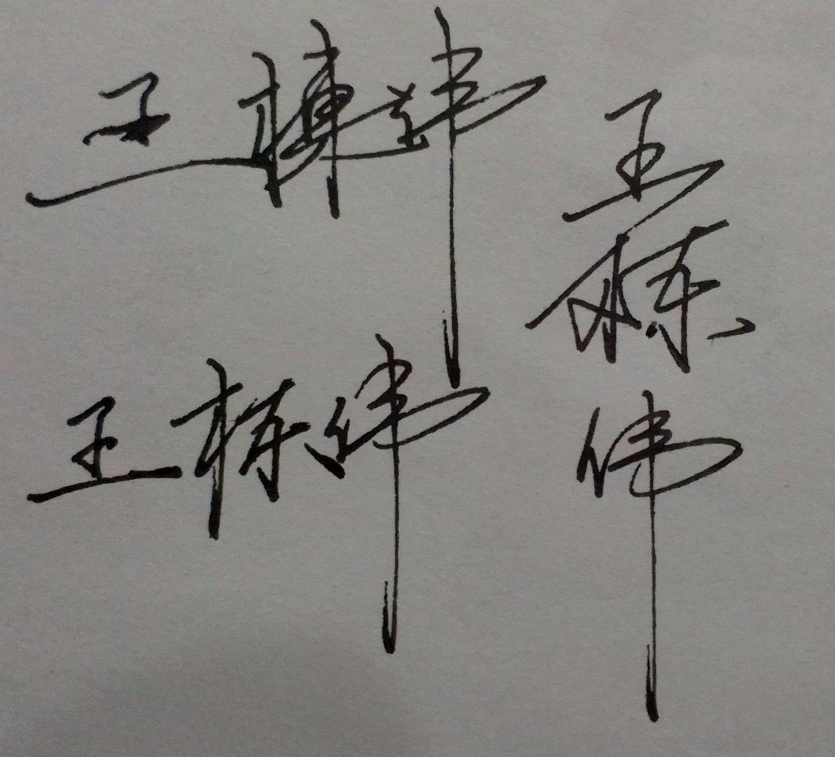 ... 王 瑞星 的 艺术 签名 怎么 写 好看 王 兵 的 艺术