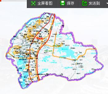 广东省东莞市厚街镇区域地图,一张图片来的.图片