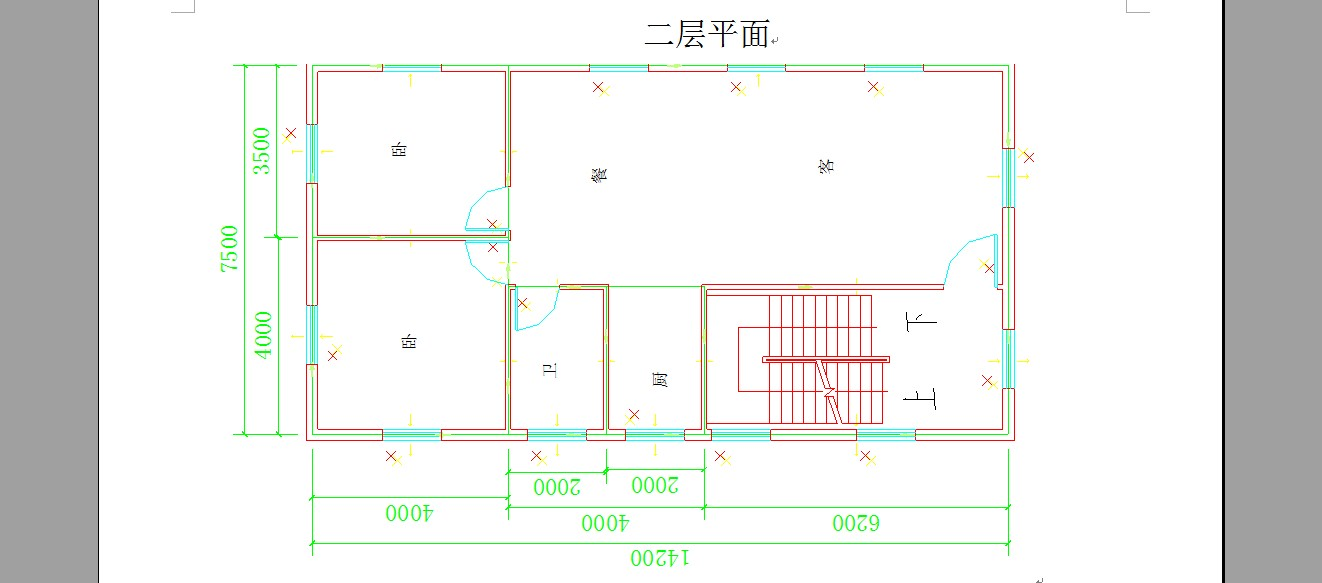 7米宽房子设计图; 二层楼房设计图; 图片