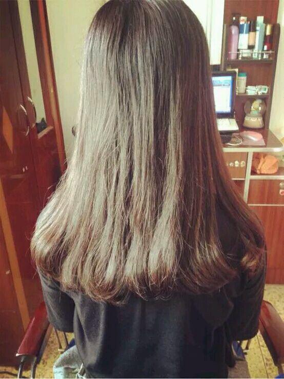 韩国ulzzang 长发尾部卷图片图片