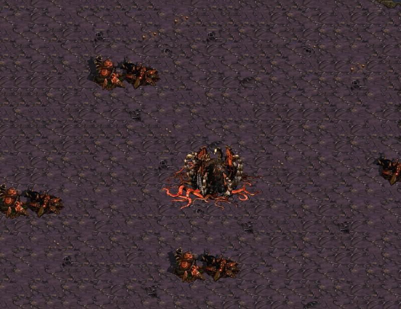 星际争霸1.08版的7vs1守大本营有个问题