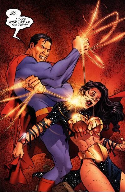 超人与蝙蝠侠_其实是因为神奇女侠和蝙蝠侠一致认为; > 超人与蝙蝠侠15卷; 悲惨的女
