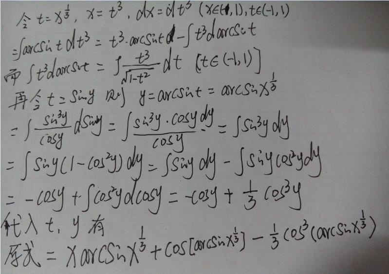∫(arcsin x)∧2dx