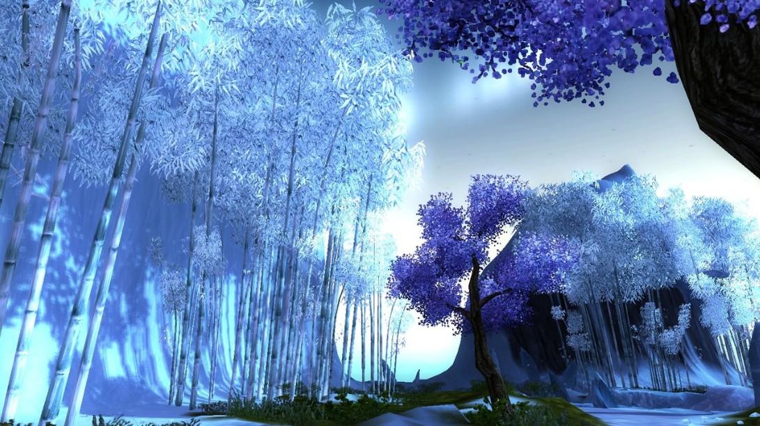 游戏的风景很好看,人设也很漂亮,画面唯美精致,很适合女生玩图片