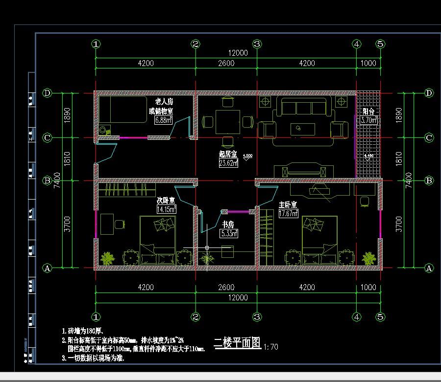 5乘10平方自建房平面图-80平方自建房平面图/60平米自建房设计图/农村图片