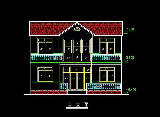 同问求两层楼房屋设计