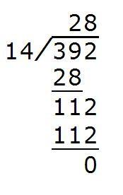 392÷56竖式怎么写