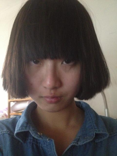 我的头发之前内扣过可是老师看出来了 (480x640)图片