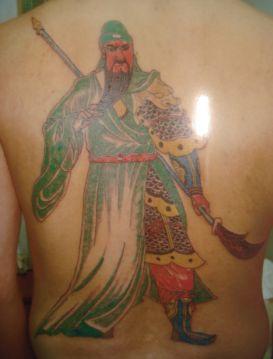 关公纹身有什么讲究图片