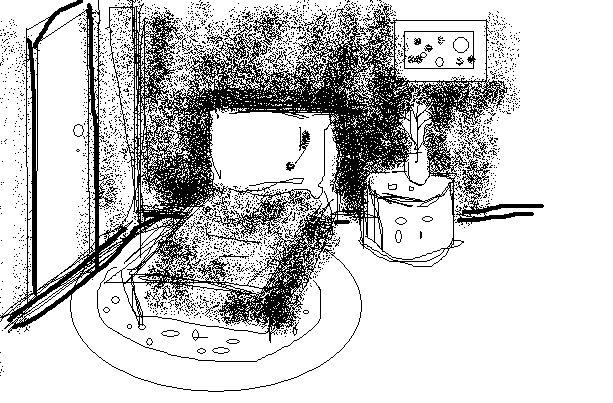 在线观看房间 简笔画 房间内部简笔画 房间家具摆设简笔画