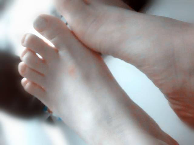 那么你觉得自己的脚漂亮吗?