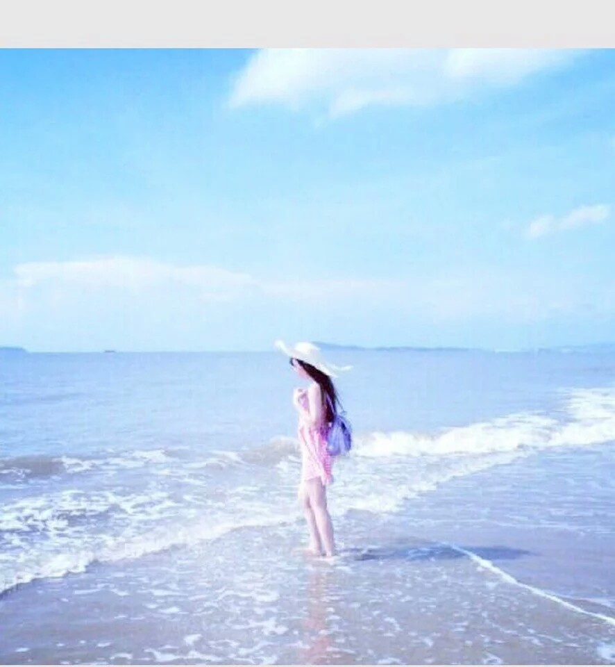 海边情侣头像charms图片
