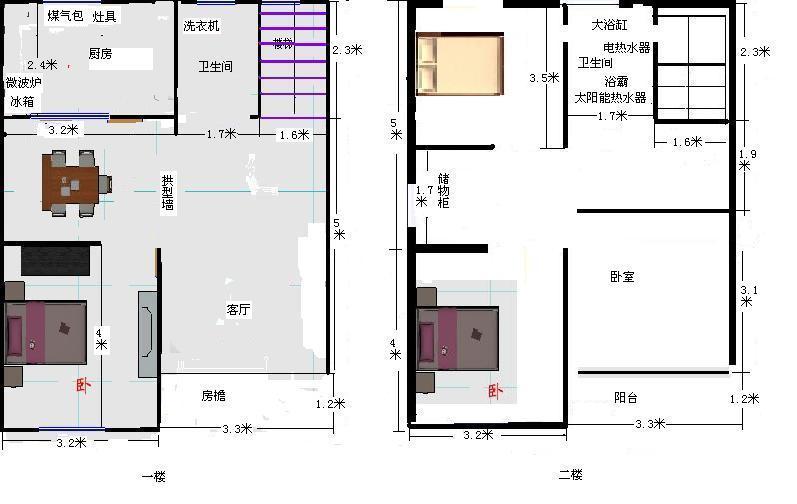 房屋内部结构设计图图片