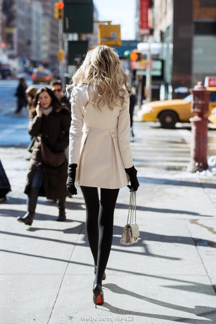欧美街拍 这个欧美女模特是谁