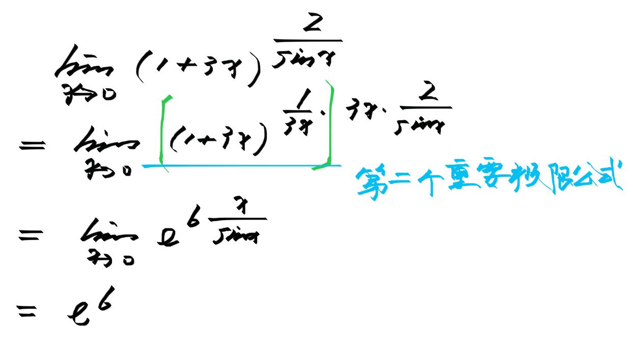 极限不是未定式