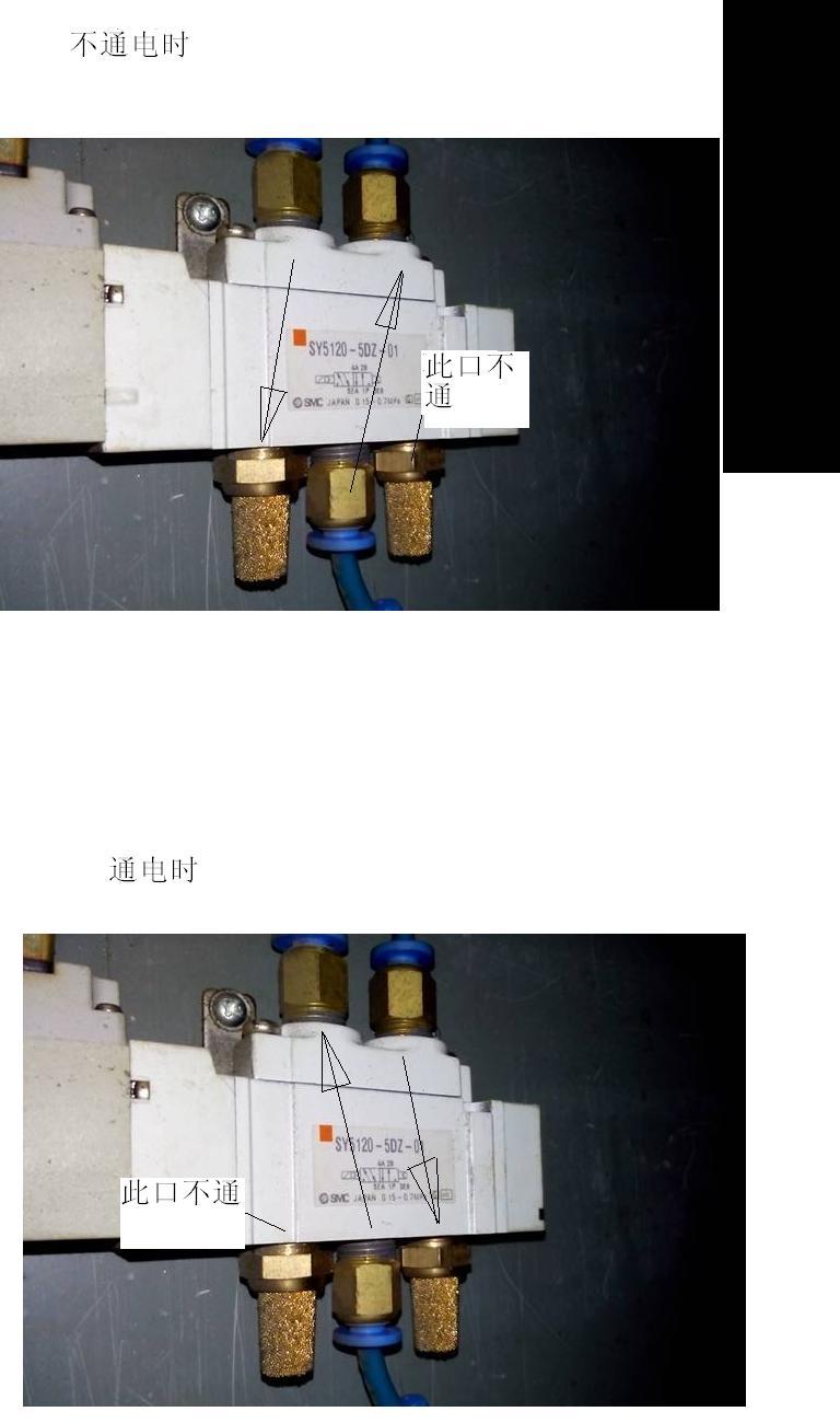 电磁阀气路图中各个箭头和符号意思图片
