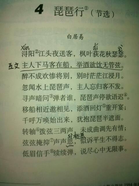 (32)《琵琶行》实用教案