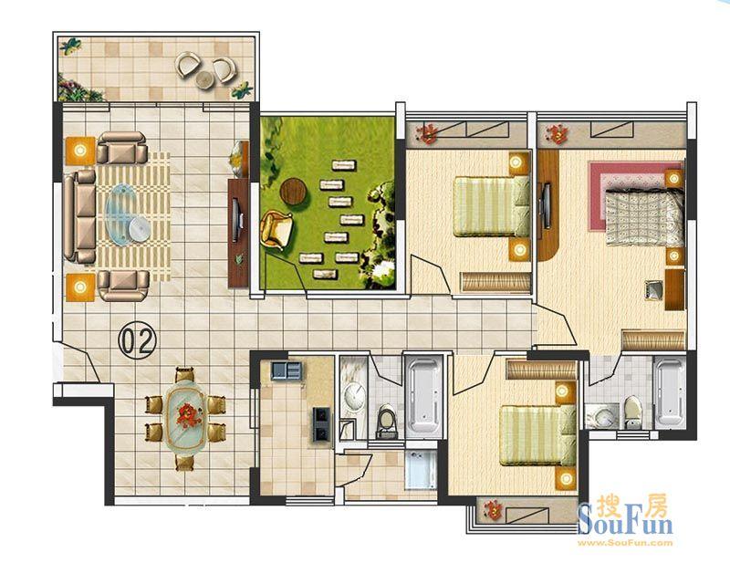 求出简图~谢谢; 房屋装修~~走廊太长,主卧卫生间朝床~怎么破~求设计.图片