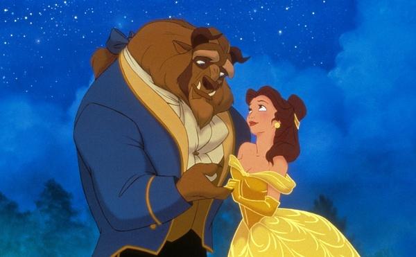 求迪士尼动画片美女与野兽中野兽的图片