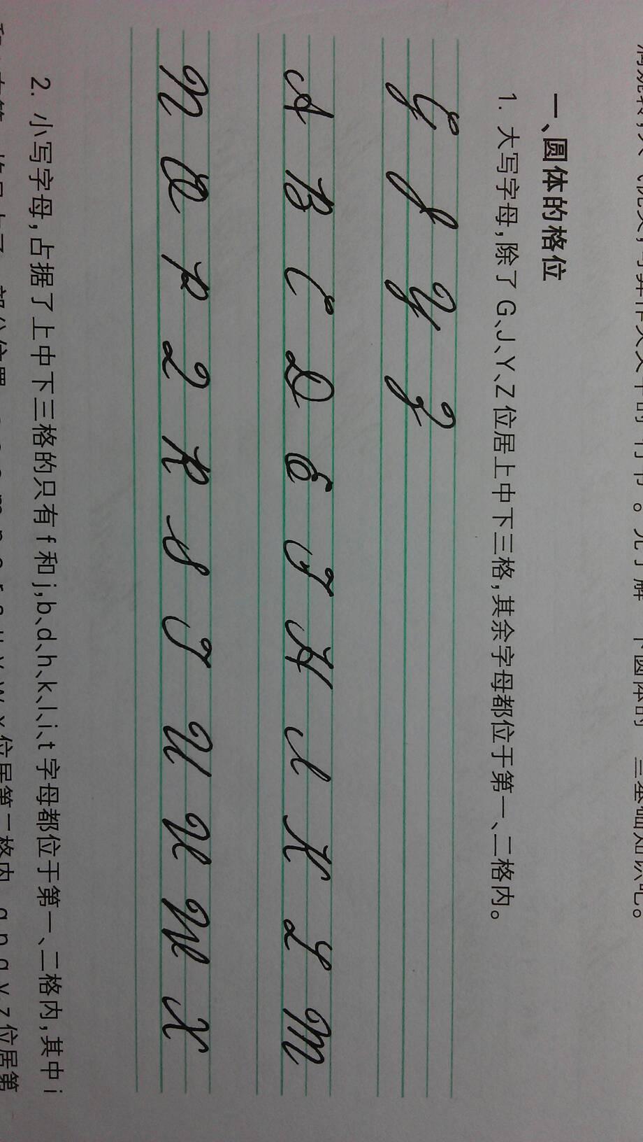t 英语字母 的笔顺