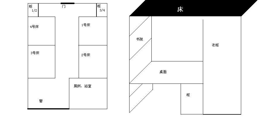 浙江医学等专科学校寝室