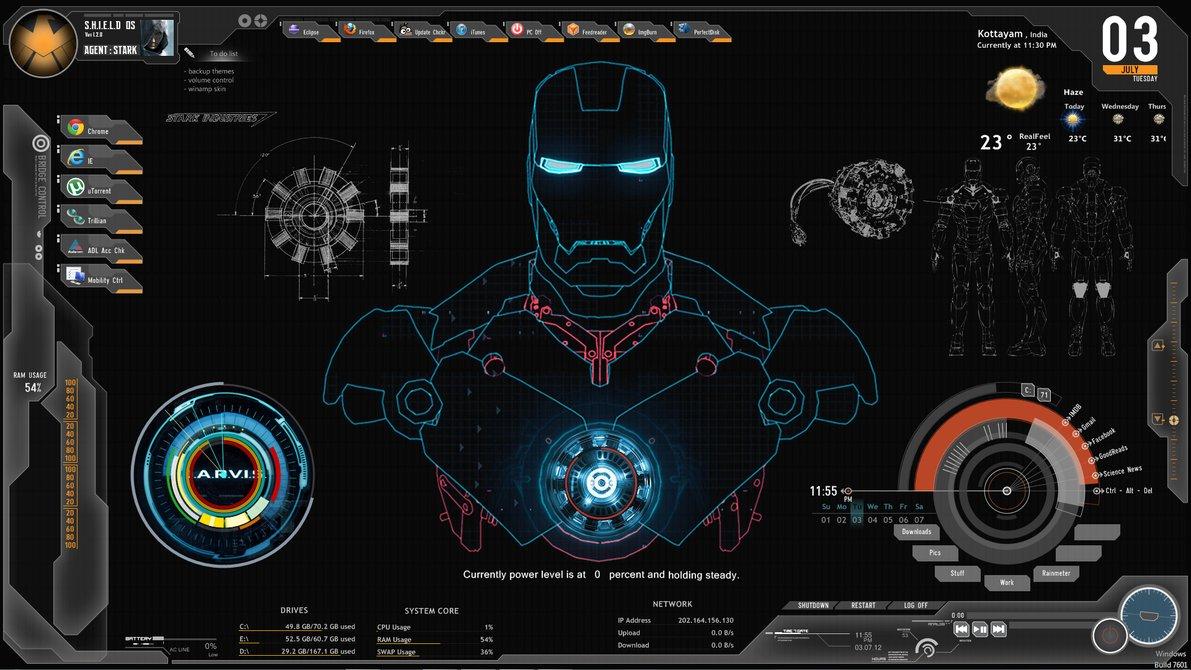 钢铁侠3盔甲设计图 高清图片