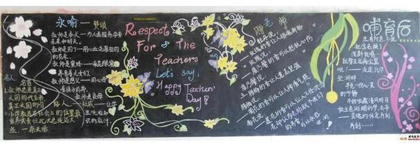 教师节英语手抄报标题