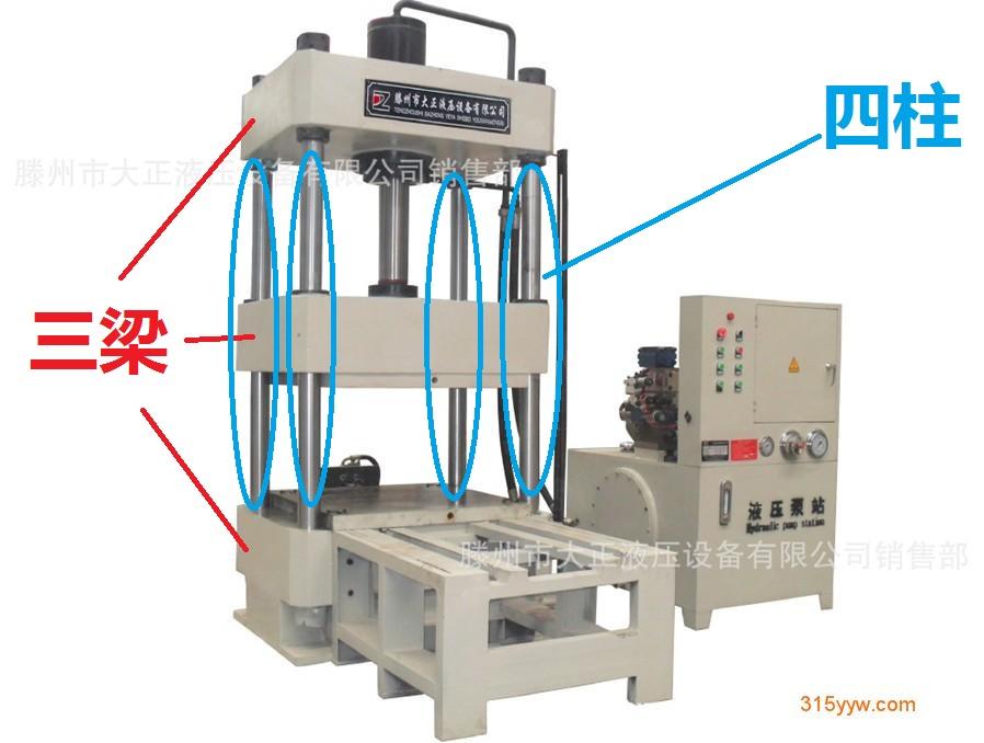 三梁四柱液压机为啥叫三梁四柱图片