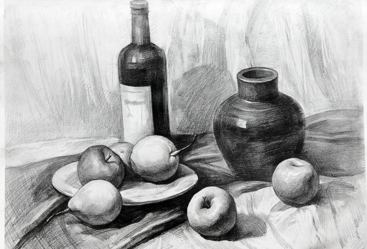 素描龙简单画法图片