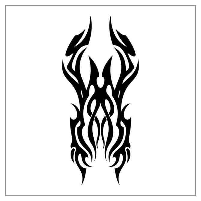 请问各位纹身大师这个图腾具体叫什么名字?图片