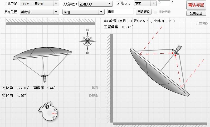 南阳卫星天线( 大锅 )调试(797x483)-大锅卫星参数 大锅卫星电视图片