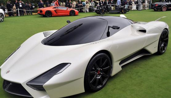 美国的超跑制造商西尔贝超级跑车tuatara