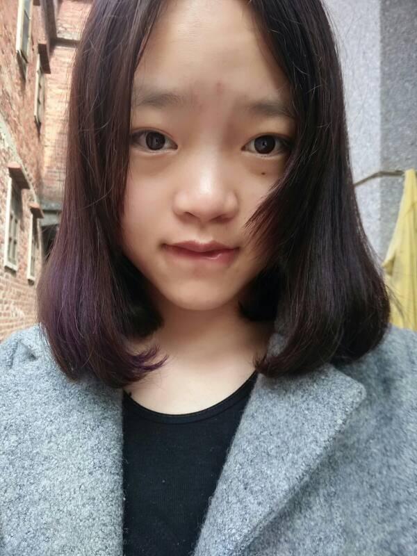 大方脸适合空气刘海,中分,齐刘海这三个的哪一种啊,跪求图片