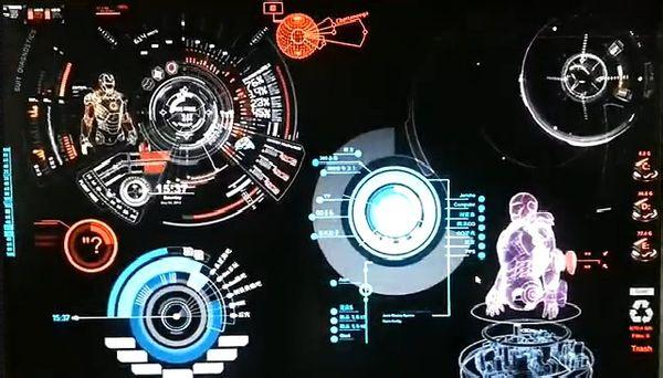 谁有钢铁侠的win7系统主题,包括rainmeter的主题包图片