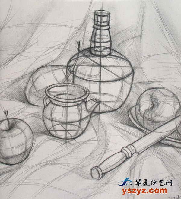 在线观看罐子素描画法 3d素描画法 玫瑰花素描画法图片