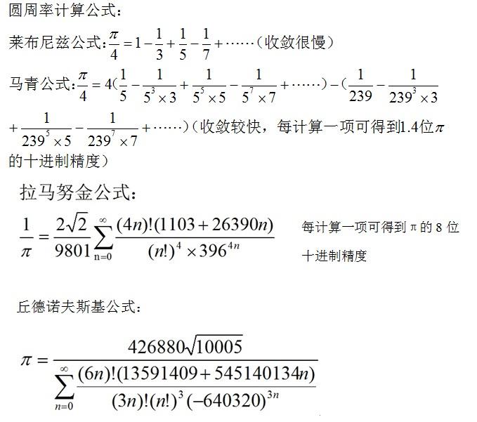 圆周率怎么算出来的,3.1415后面是什么,能有都少就写多少