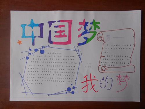 中国梦我的梦手抄报图片图片