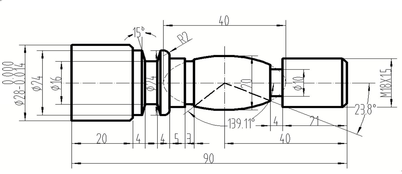 fanuc数控车床的加工编程,这个图,有资料的帮帮忙!图片