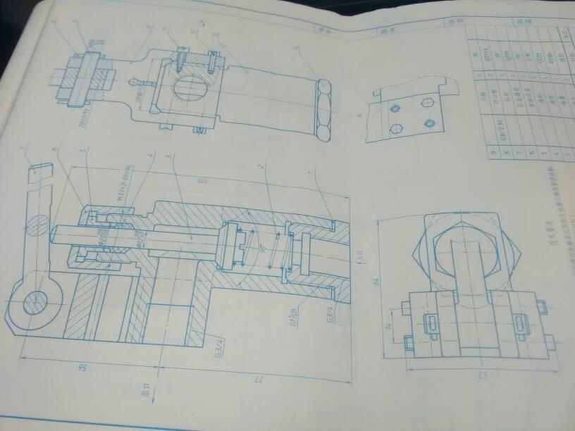这个手压阀拆画零件图应该画哪几个部分呢图片
