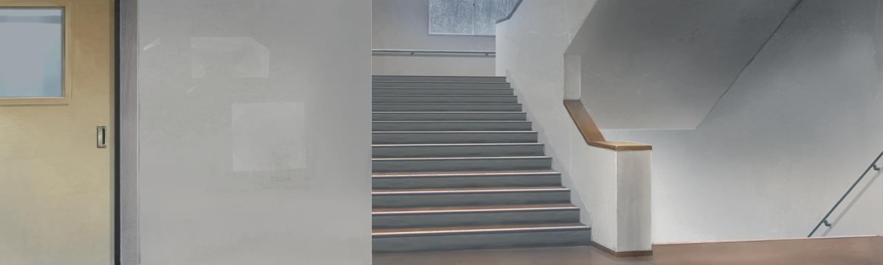 求动漫的楼梯图片,要没有人物的