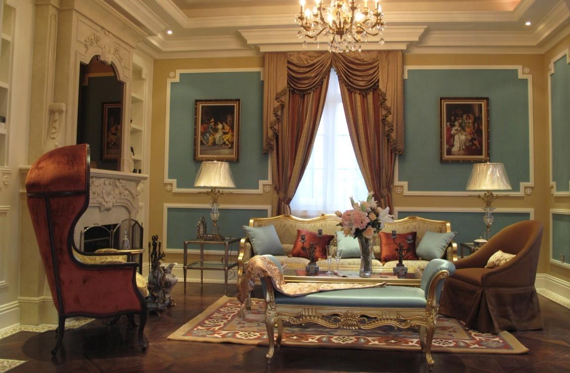 欧式别墅配什么家具好?图片