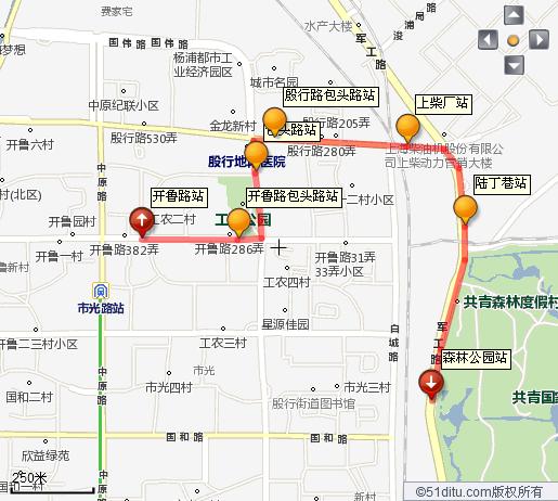 上海共青国家森林公园离地铁几号线图片