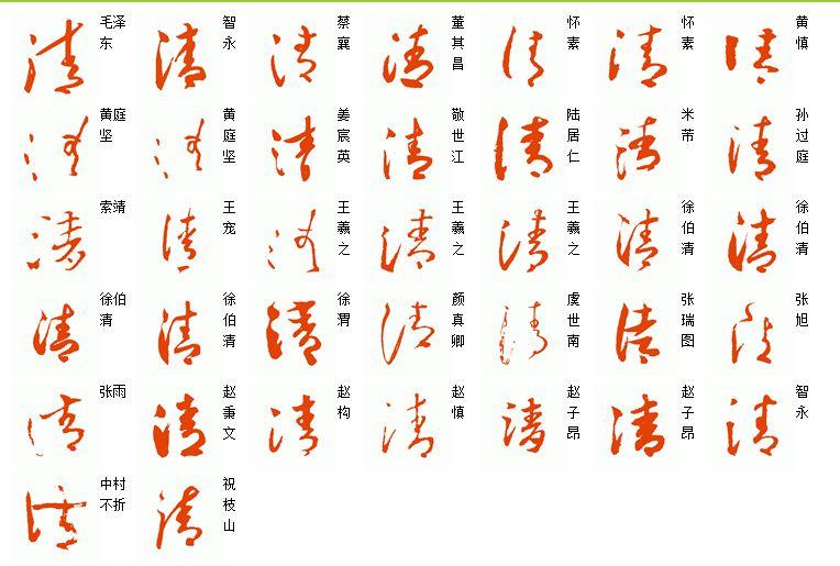 书法草书里《远》字怎样写的美写的绝,学好这几个也就图片