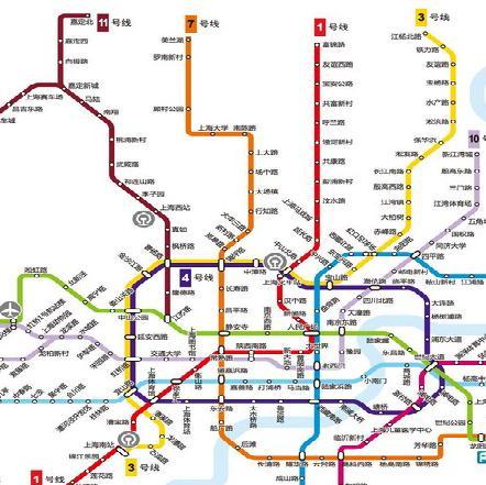 上海地铁5号线路线图图片