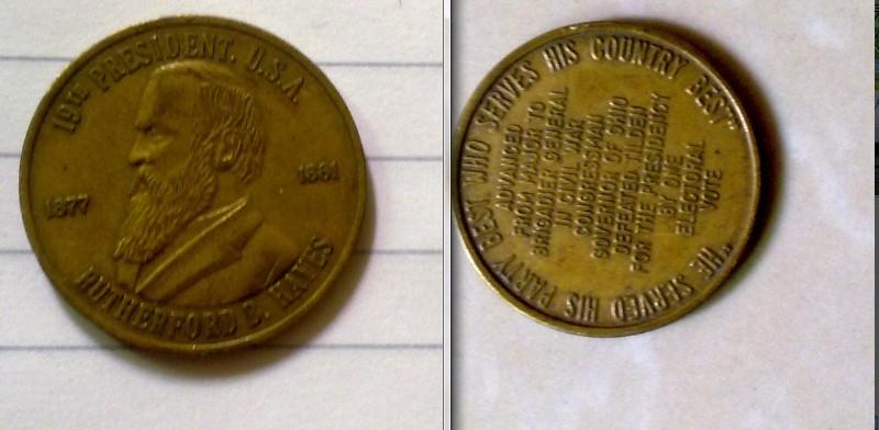 这是美国硬币吗?多少分?有什么意义?头像是?