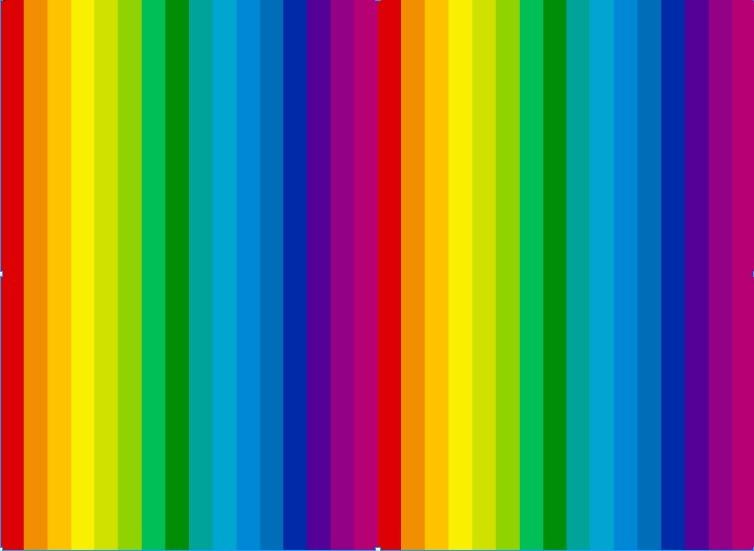 ps 彩虹色样式,有图.跪求