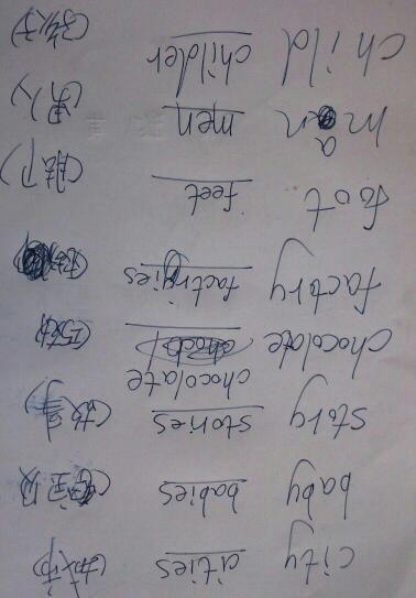 汉语表达复数的字