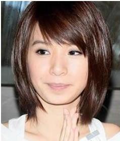 49 2014-05-01 脸大头发少适合什么短发剪发发型图片 2009-08-03图片
