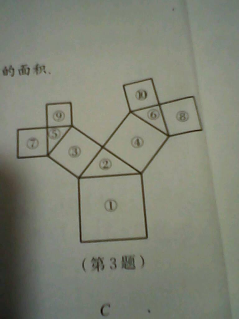 如图,所有的四边形都是正方形所有的三角形都是直角三角形近点儿图中图片
